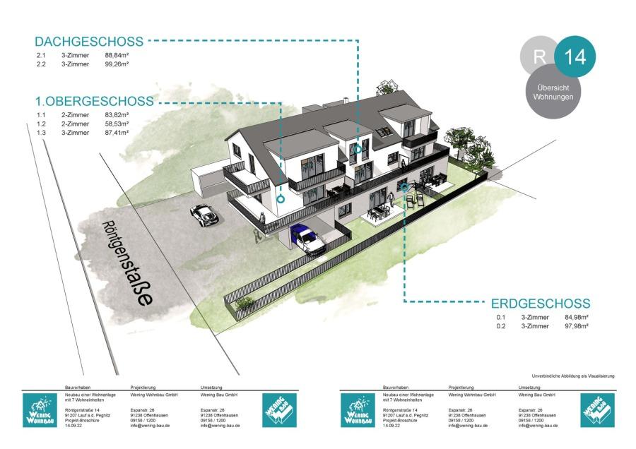 Doppelhaushälften, Doppelhaus, Hersbruck, Eigentumswohnungen, Immobilien, Projekte